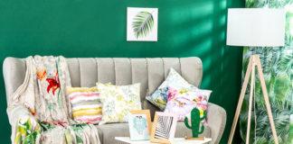 Motywy roślinne na tekstyliach – chwilowy trend czy ponadczasowy dodatek?